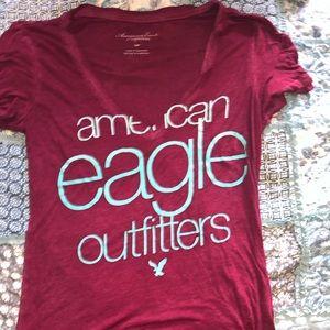American Eagle V Neck T